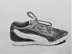 Grafit cipő